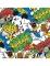 20 Serviettes en papier Mickey™ rétro 33 x 33 cm