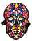 Masque crâne de squelette sonore adulte
